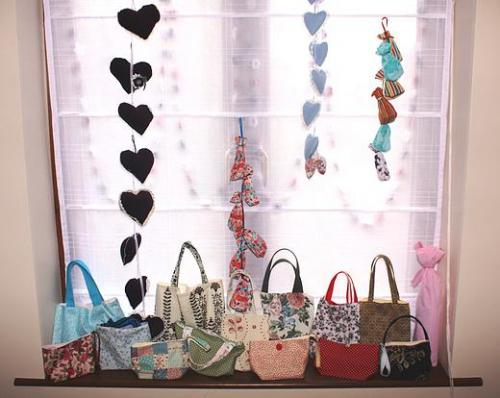 Handmade bags and decorations made to order